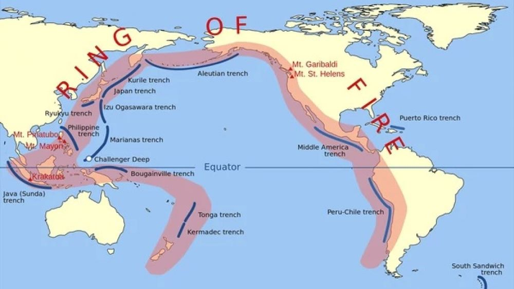 Océano Pacífico: Temor por catástrofe masiva debido a recientes movimientos de las placas