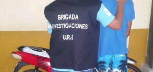 La policía de Misiones recuperó una moto robada en Posadas