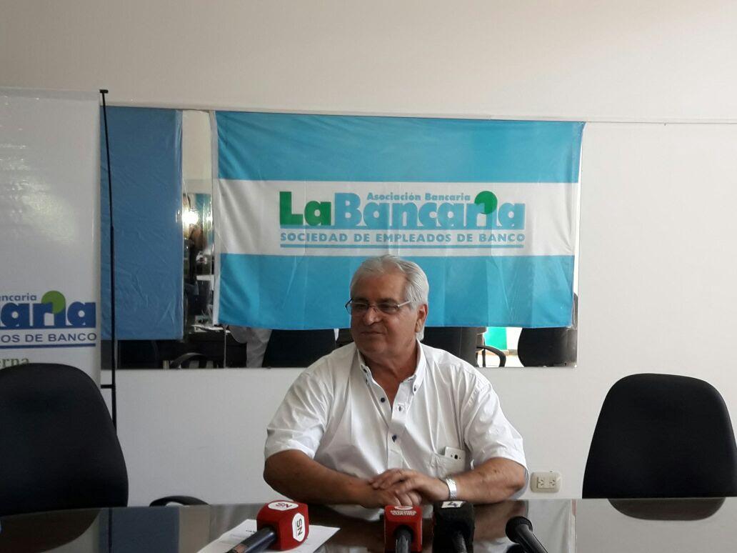 Conflicto bancario: para Ruiz Moreno el gobierno nacional interviene y no permite el diálogo