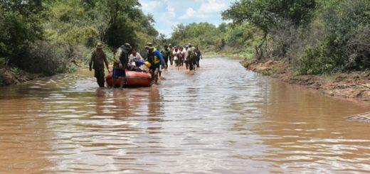 Salta: más de 7000 personas fueron evacuadas por la crecida histórica del río Pilcomayo