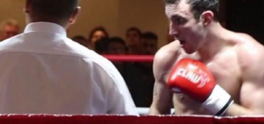 Murió durante una entrevista luego de ganar una pelea: la tragedia de Scott Westgarth