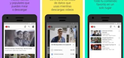 YouTube Go: una versión que permite ver videos con pocos datos y mala conexión