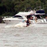 Encontraron el cuerpo del joven que cayó al río desde un barco durante una fiesta