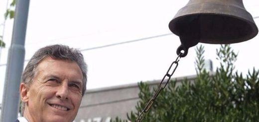 Mauricio Macri inaugura el ciclo lectivo en Corrientes