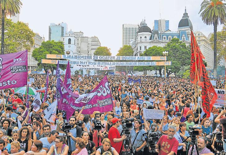 8M: esperan una «marea» de mujeres en la marcha y paro del próximo jueves