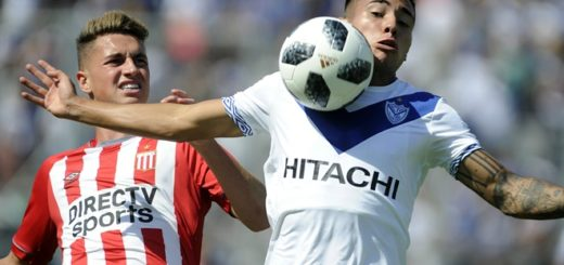 Superliga: Vélez y Estudiantes empararon 3 a 3