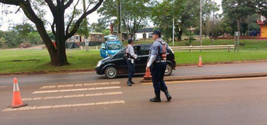 La Policía retuvo más de 80 licencias y varios conductores alcoholizados fueron detenidos durante el fin de semana en Misiones