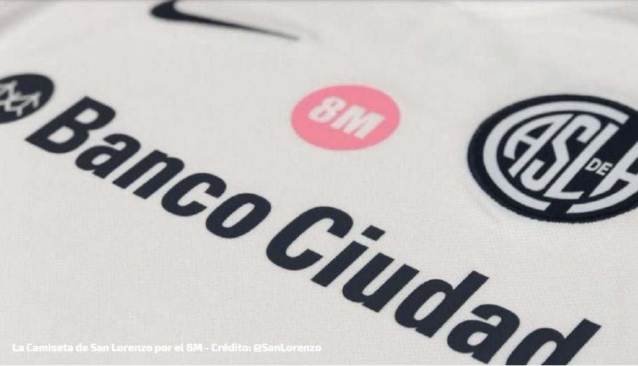 San Lorenzo homenajeará a las mujeres con una nueva camiseta y se sumará al reclamo de #NiUnaMenos