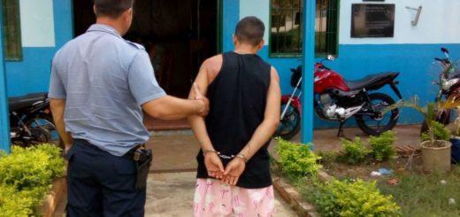 Posadas: preso por atacar a su pareja con un palo