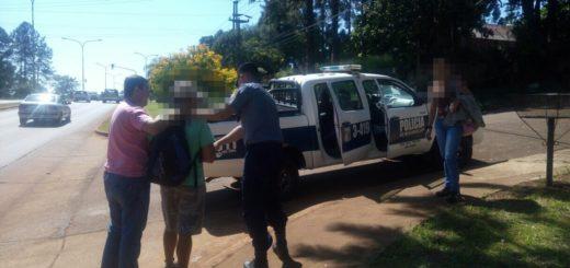Detuvieron en Oberá a un posadeño acusado de haber abusado de una mujer en plena calle