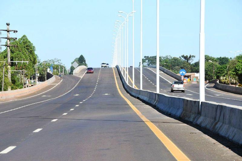 La EBY habilitó el tránsito en un nuevo tramo de autovía de la ruta nacional 12