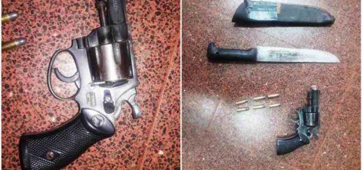 Detuvieron a un motociclista que circulaba ebrio y armado por Posadas