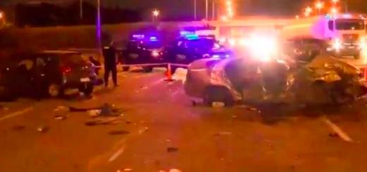 Accidente fatal: dos muertos y cuatro heridos