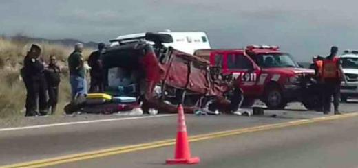 Choque frontal entre dos vehículos en la ruta a Chile