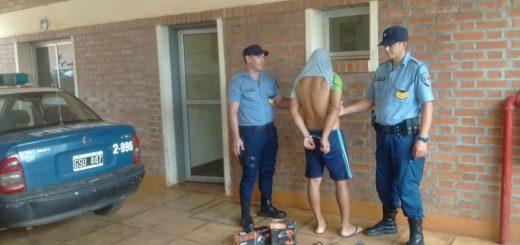 Tras una investigación, detuvieron en Cerro Azul a un joven buscado por un atraco