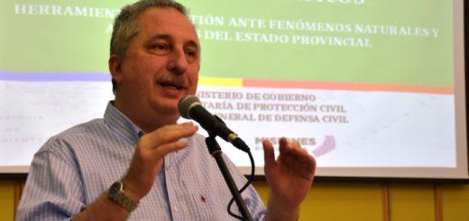 """""""Somos la tercera provincia del país en contar con un Plan de Emergencias Climáticas"""", aseguró Passalacqua"""