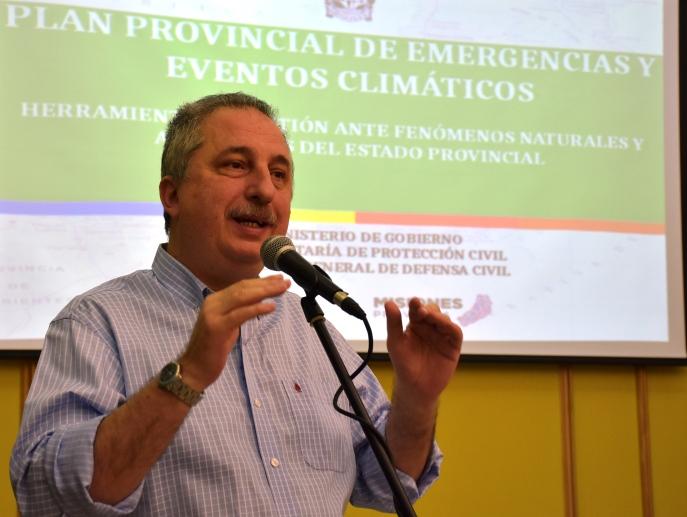 «Somos la tercera provincia del país en contar con un Plan de Emergencias Climáticas», aseguró Passalacqua