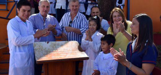 Passalacqua Inauguró el edificio de la Escuela Especial 37 de Wanda
