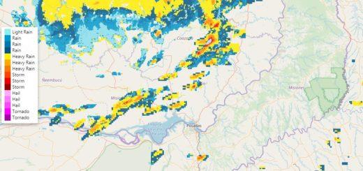 Advierten sobre probables chaparrones y tormentas aisladas