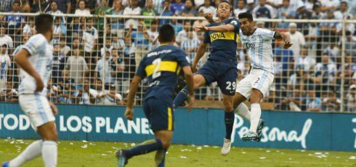 Tras caer en el Superclásico, Boca le sacó un punto sobre el final a Atlético Tucumán