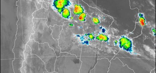 Lunes con tormentas y granizo para el sur de Misiones