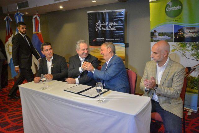 """""""Con Córdoba nos une una misma visión de país federal"""", remarcó Passalacqua"""