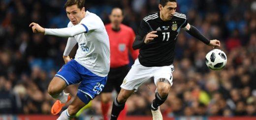 Amistoso Internacional: Primer tiempo con pocas luces para un 0 a 0 entre Argentina e Italia