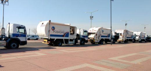 El municipio de Posadas presentará cinco nuevos camiones recolectores