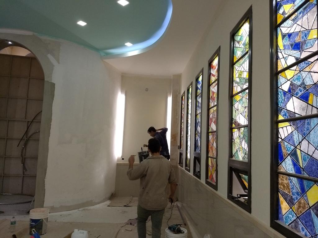 Fiestas patronales en Posadas: se desarrolla la novena y en la Catedral, construyen una capilla para el Santísimo