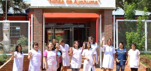 Con la inauguración de la Escuela 38 en Itacaruaré, se inicia el ciclo lectivo en Misiones