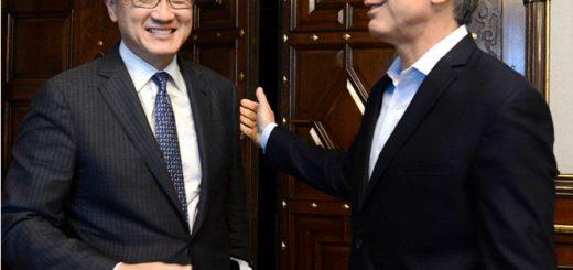 Mauricio Macri recibió al presidente del Banco Mundial, en medio de la cumbre del G20