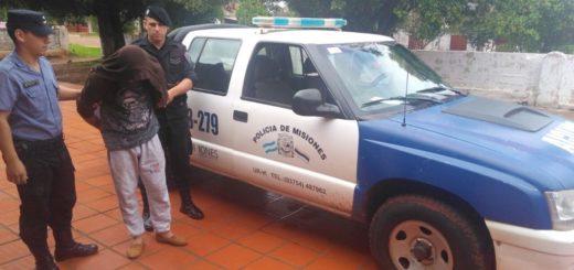 Detuvieron al violento que atormentaba a su familia en Mojón Grande