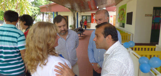 Vicegobernación entregó insumos al jardín materno del IPS en Posadas