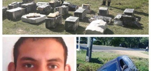 Policía Federal de licencia cayó en Itatí con más de media tonelada de marihuana en una camioneta