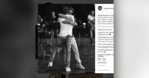Alejandro Sanz y Pablo Alborán emocionan a sus fans con los mensajes que se dedican en las redes sociales
