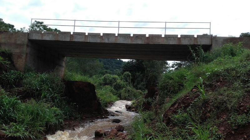 Vialidad habilitó obras en El Soberbio y San Vicente