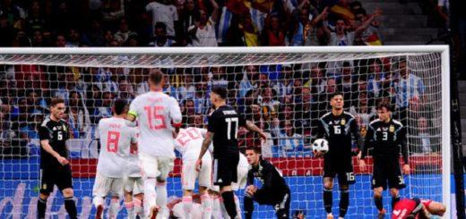 Papelón: España ridiculizó a la Argentina en la última prueba importante antes del Mundial