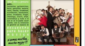 Continúan hoy y mañana las actividades del Taller de Orquesta Comunitaria en el Galpón de la Murga