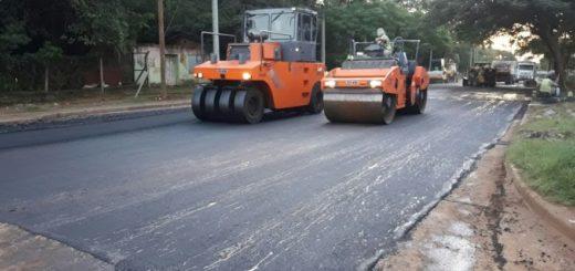 Posadas: en más de 245 cuadras Vialidad realizó tareas de pavimentación y repavimentación