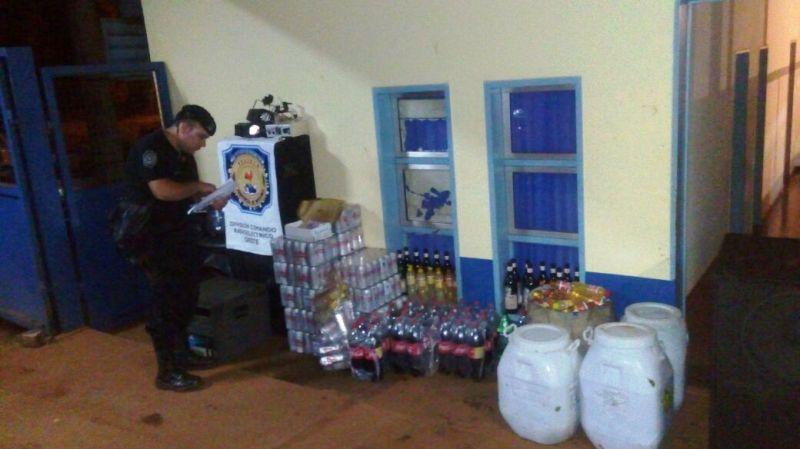 Tras un desorden clausuraron el Club Lomas de Posadas: hubo detenidos y en el lugar transcurría una fiesta con alcohol y menores