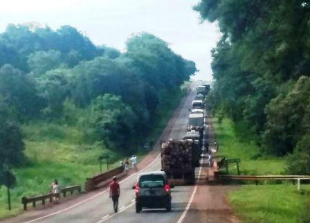 En Mado y Victoria los cortes afectaron la ruta 12