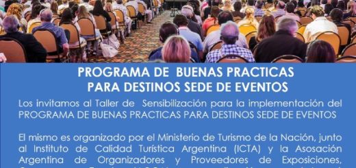 Iguazú: taller de sensibilización del programa Buenas Prácticas para destinos de eventos