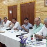 """Entusiasmo por el convenio firmado ayer por Passalacqua: """"Esto garantizará la fabricación de 508 casas y la instalación de la fábrica de viviendas de madera más grande de Latinoamérica"""""""