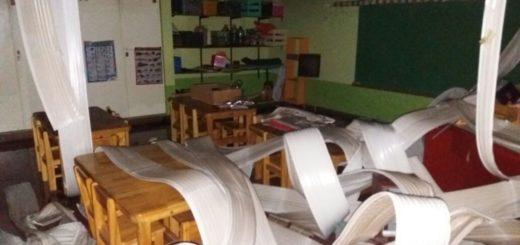Incendio en el NENI N° 2043: mudan lo poco que quedó a la escuela N° 729 y esperan retomar las clases este miércoles