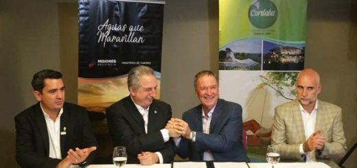 """Passalacqua: """"aspiramos a duplicar la cantidad de cordobeses que veranean en Misiones"""""""