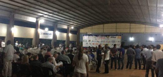 Con una desbordante concurrencia comenzó la asamblea que elegirá las autoridades del club Pira Pytá