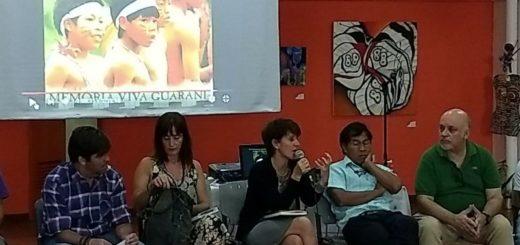 Líderes Mbyá Guaraní, compartieron su visión sobre lo que para ellos significa la tierra y el territorio