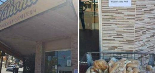 Se hizo viral la imagen de una Panadería en Posadas que regala pan fresco a los que más lo necesitan