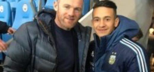 El misionero Ojeda se da el gusto de entrenar con Messi y ahora se saca fotos con figuras internacionales