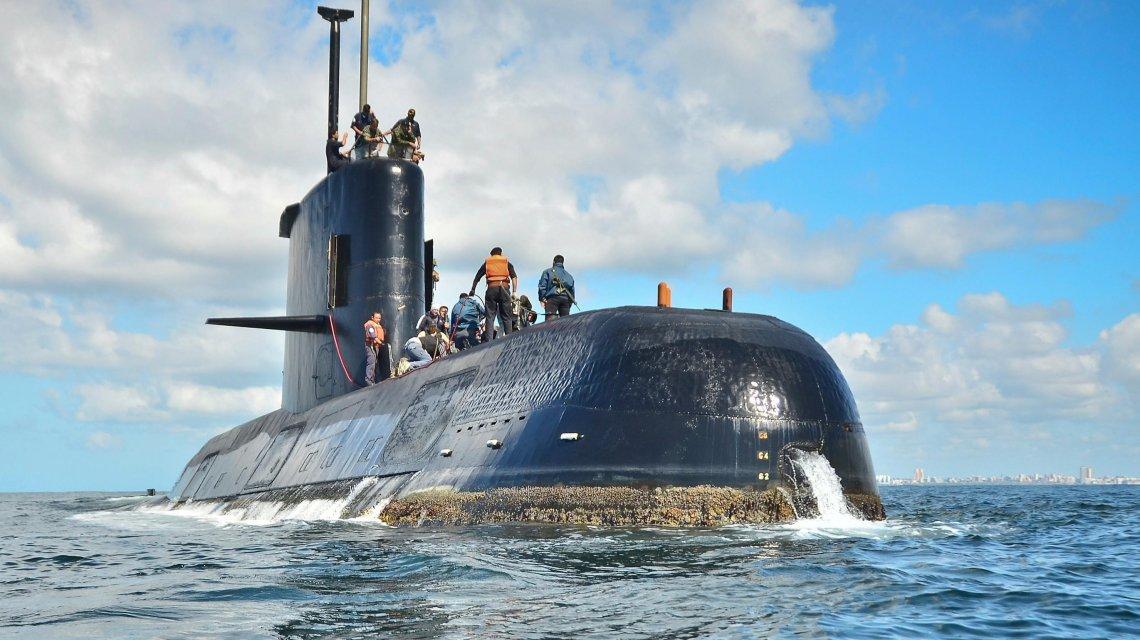 Un documento reveló que el submarino ARA San Juan había pasado cerca de las Malvinas